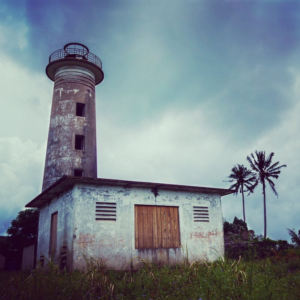 The lighthouse in Koh Rong Samloem